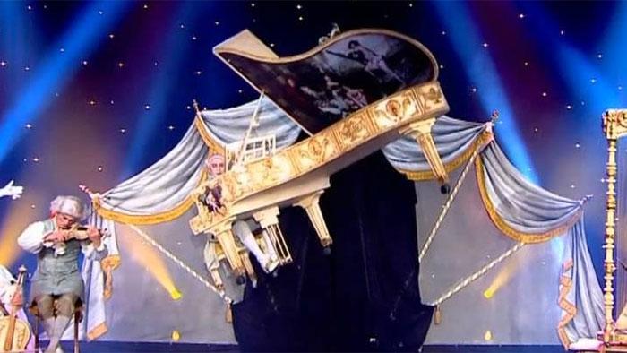 Le piano en délire