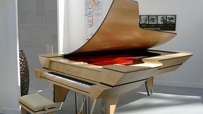 Walk in time : un piano français unique