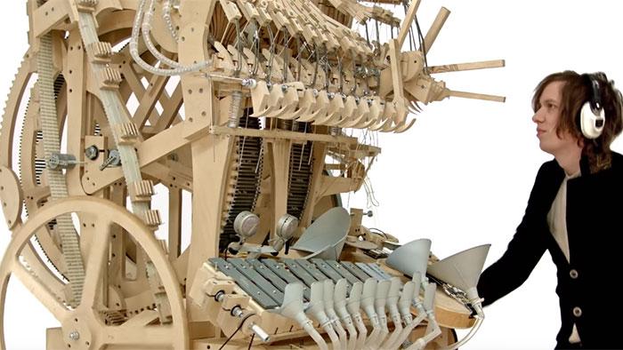 Connaissez Vous La Marble Machine De Martin Molin Blog