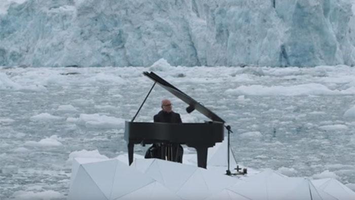 Quand un pianiste tente de sauver la banquise