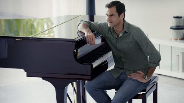 Roger Federer joue le Prélude de Bach