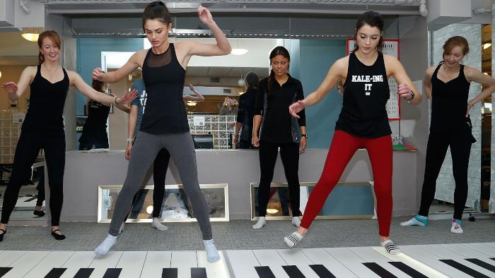 Le Big Piano Fitness, un sport d'un nouveau genre