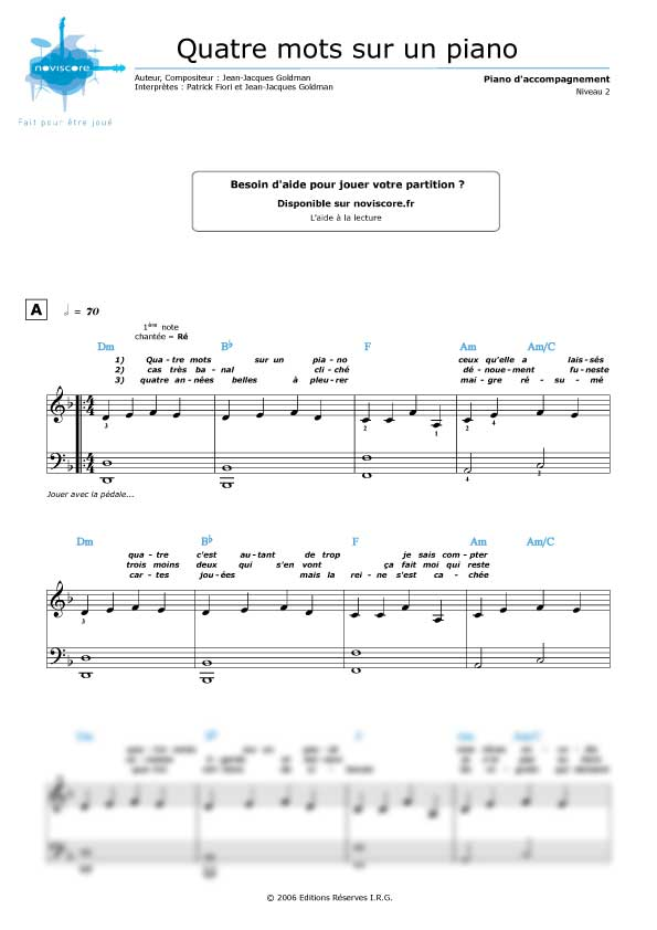 partition piano 4 mains pdf