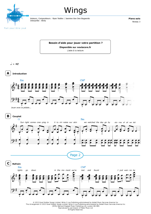 Piano partition people help the people - College paper Sample