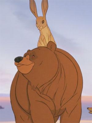 L'Ours et le lièvre
