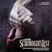 Partition La liste de Schindler John Williams