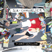 Partition Chandelier (Version piano) Sia