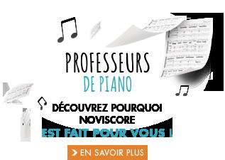 professeurs de piano